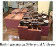 TUS-Bush-type analog Differential Analyzer