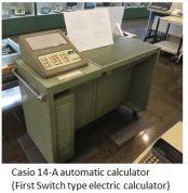 TUS-Casio 14-A automatic calculator