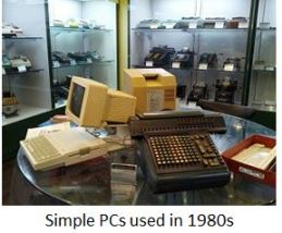 TUS-Simple PCs used in 1980s x