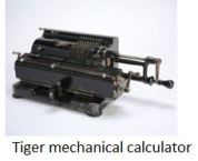 TUS-Tiger mechanical calculator