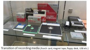 TUS-Transition of recording media