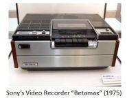 Sony- Betamax xx