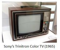 Sony- TV trinitoron
