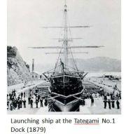 Nagasaki Zosen- Dock 1879.JPG